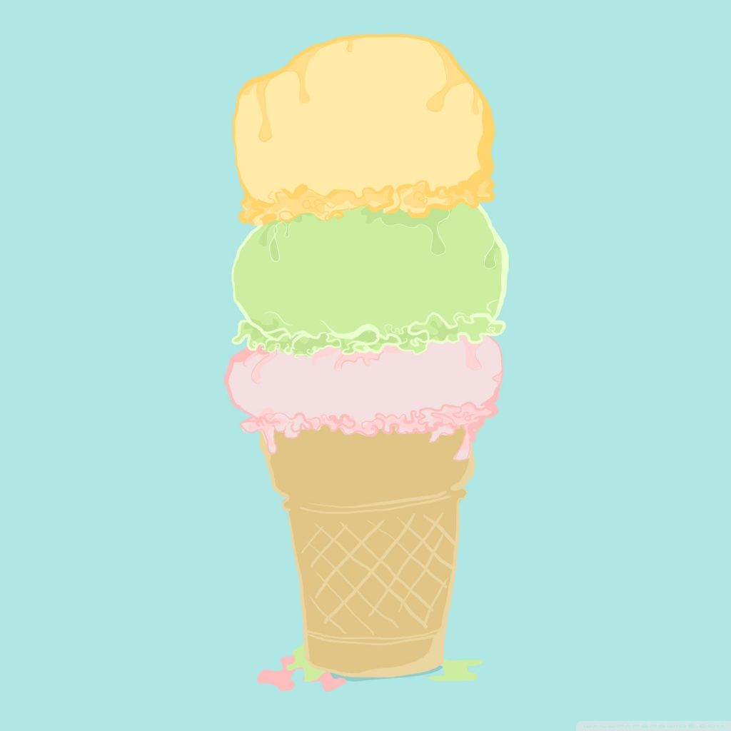 Ice Cream Images Ice Creams Wallpaper And Background: 1024x1024 Mobile Phone Wallpapers Download