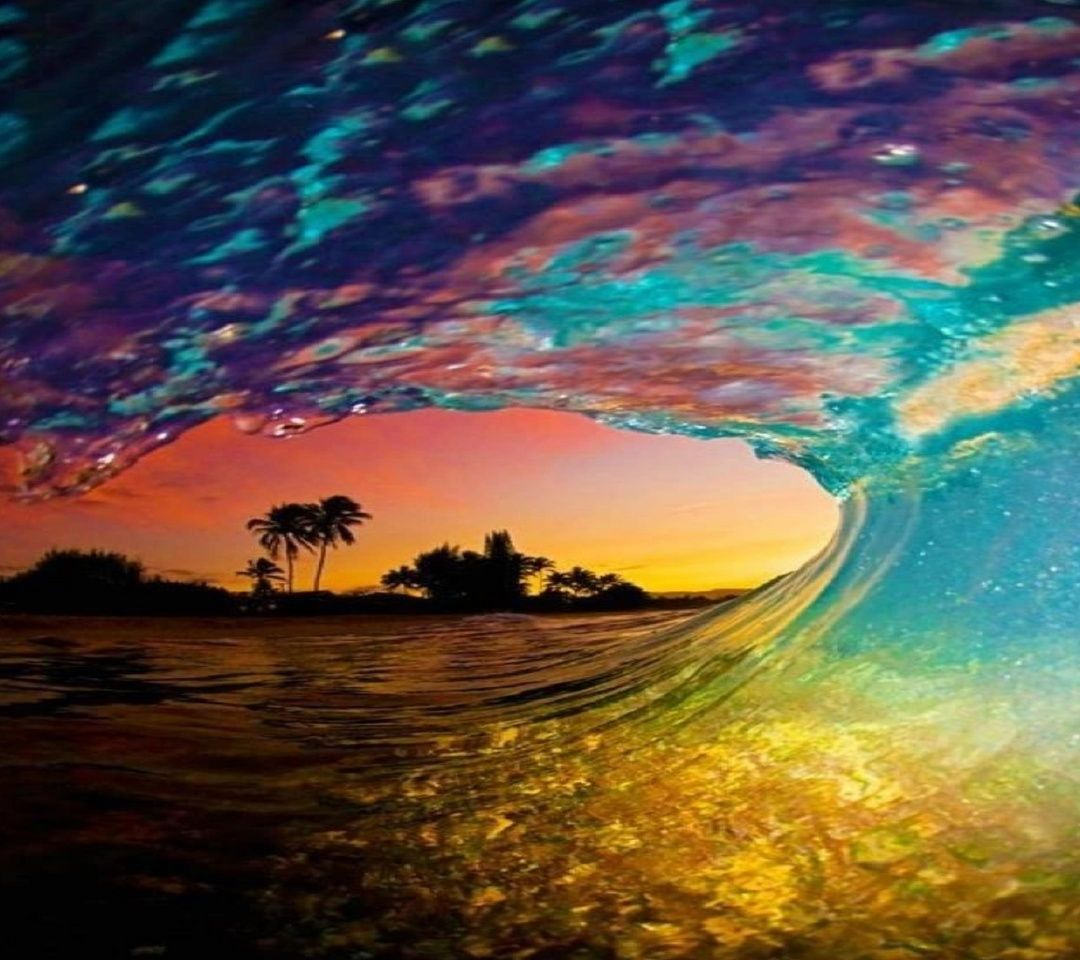Waves Wallpapers: 1080x960 Mobile Phone Wallpapers Download