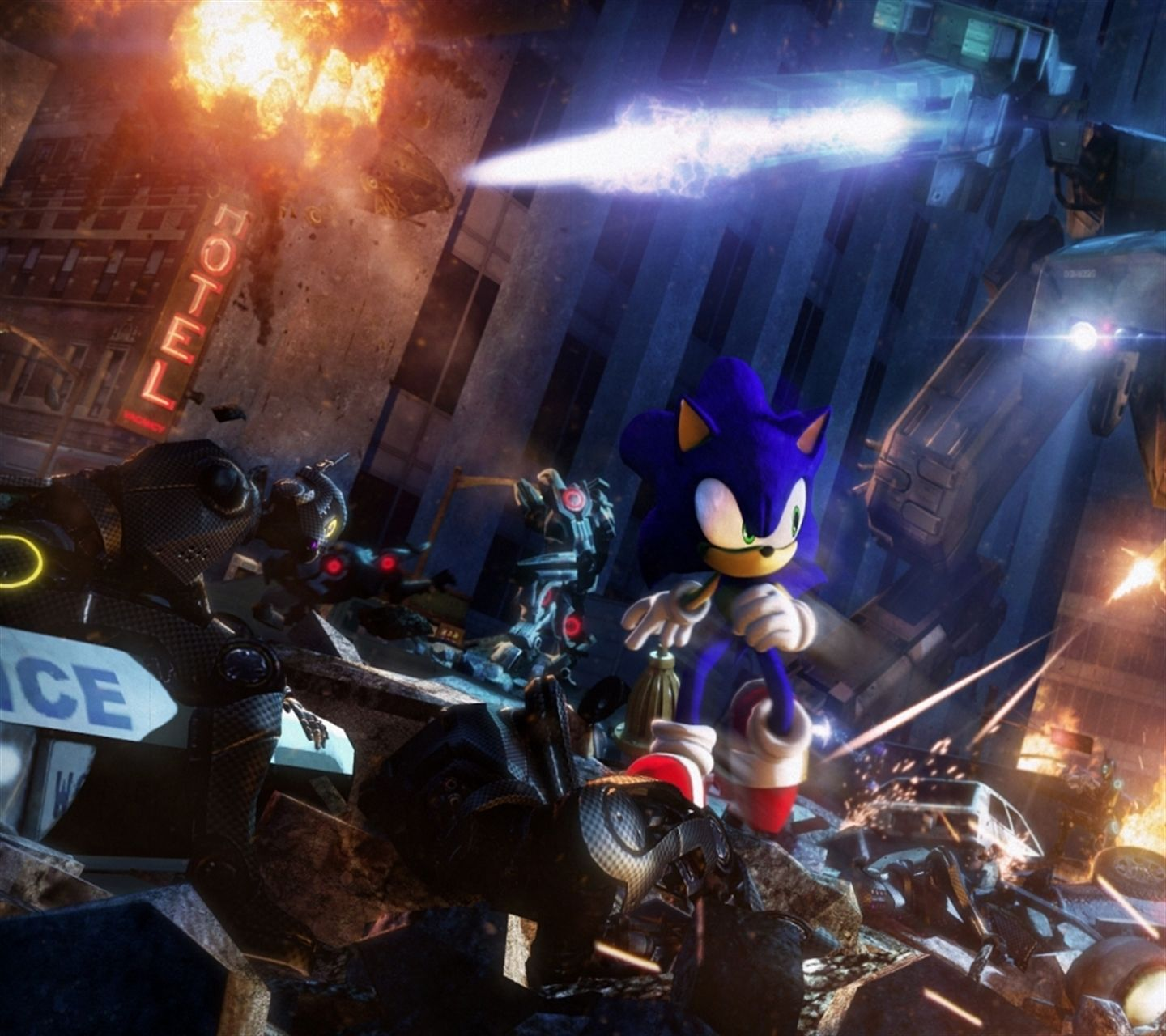 Download Sonic Gmod Doomsday Hd Wallpaper1440x12801280x1440freehotmobile Phone