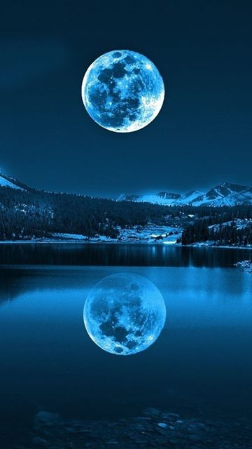 Download Blue Moonlight360x640640x360freehotmobile Phone Wallpapers