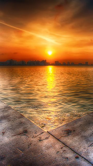 Download · Summer Sunset,360x640,640x360,free,hot,mobile phone wallpapers ,www