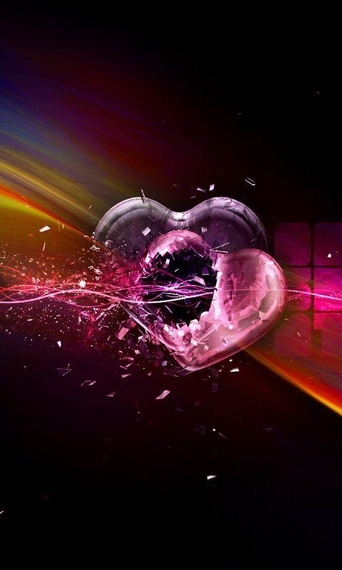 Download Broken Heart480x800800x480freehotmobile Phone Wallpapers