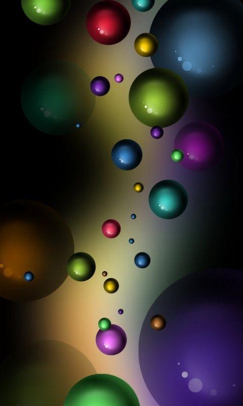 Download  C B Bubbles Coloursxxfreehotmobile Phone Wallpapers Www