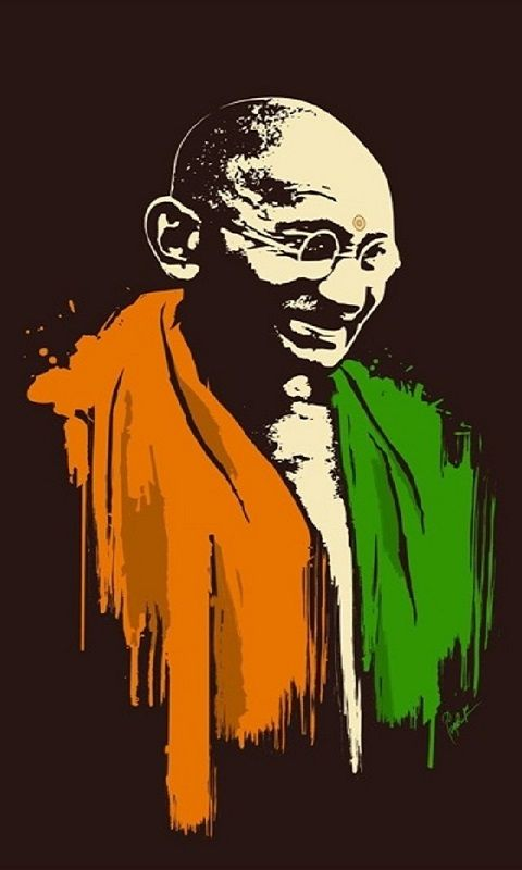Mahatma Gandhi,480x800,800x480,free,hot,mobile phone wallpapers,www ...
