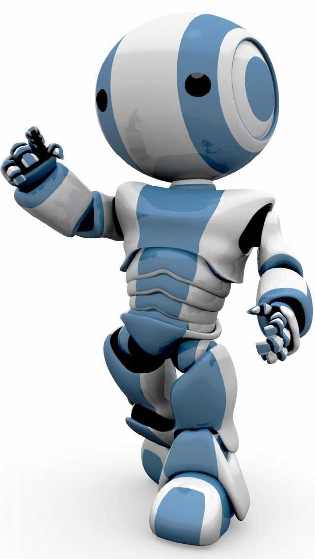 Cute Robot Love Wallpaper 640x1136 mobile phone ...