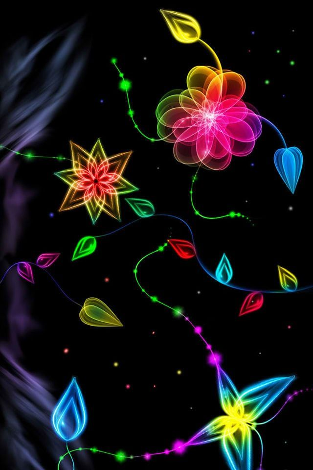 Free Colorful Flower Wallpaper Downloads: 640x960 Mobile Phone Wallpapers Download