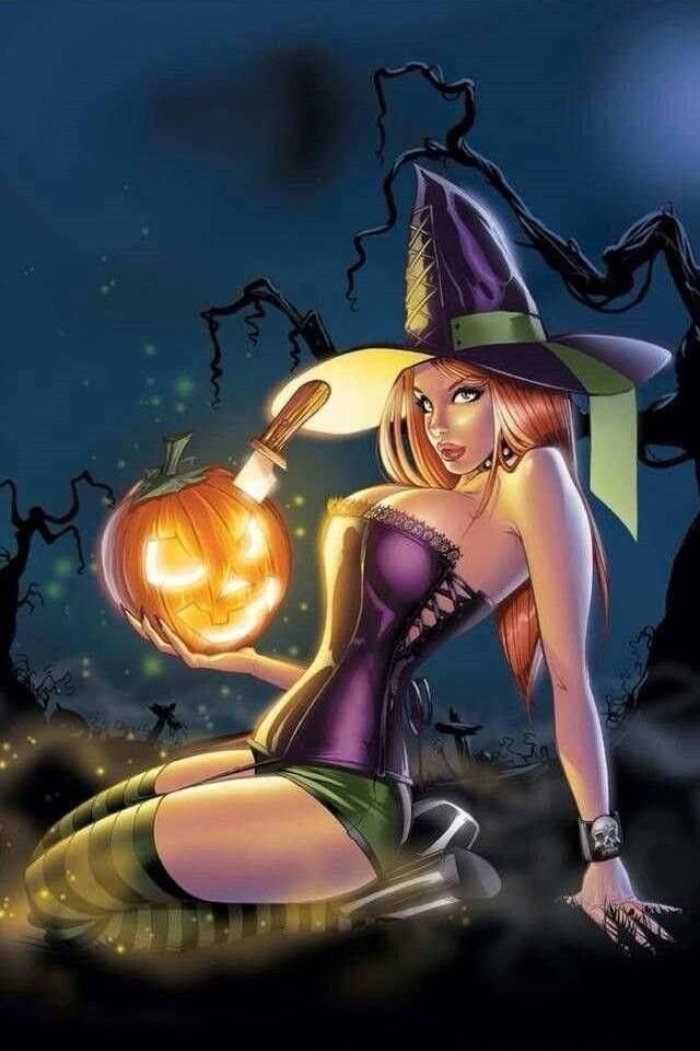hot halloween wallpapers - photo #21