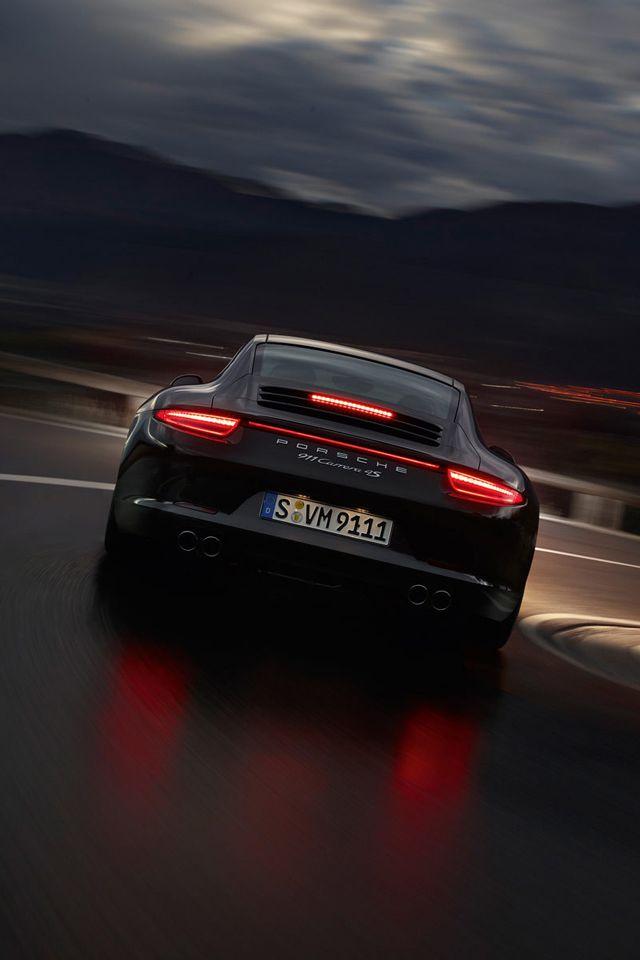 Download Porsche Night640x960960x640freehotmobile Phone Wallpapers