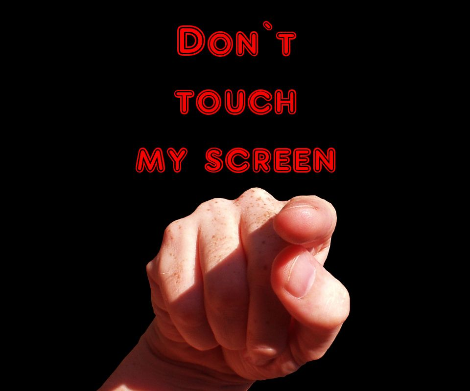 download don t touch my phone mobile wallpaper mobile